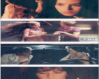 François Truffaut Retrospective   70s French Classics, Nathalie Baye, Isabelle Adjani   2006 print, gatefold   Japanese chirashi film poster