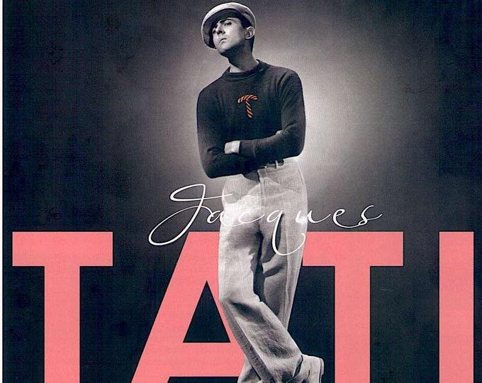 Jacques Tati Film Festival (C) | 40s-70s French Classics | 2018 print, gatefold | Japanese chirashi film poster