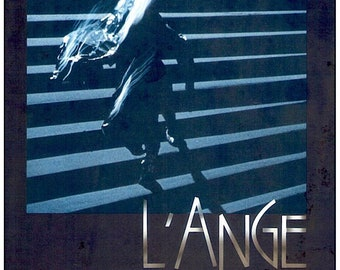 The Angel (B) | 80s Cult Art Cinema, Patrick Bokanowski | 1985 original print | Japanese chirashi film poster