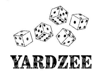 graphic regarding Yardzee Rules Printable called Yardzee laws Etsy