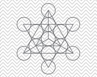 Tetrahedron SVG, Sacred Geometry SVGs, Tetrahedron clipart, Tetrahedron cuttable, SVGs, Cricut Cut File, Silhouette File