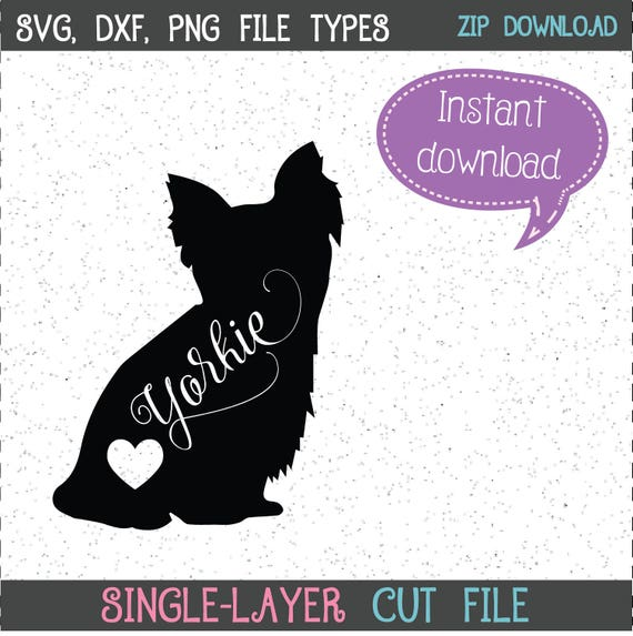 Yorkie Svg Yorkies Yorkie Svgs Yorkies Svgs Dog Svgs Dogs Etsy