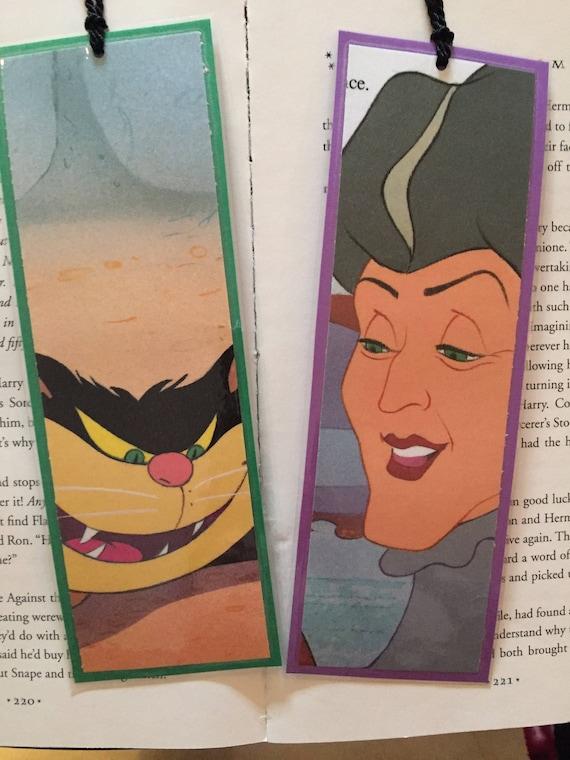 Lady Tremaine I Lucyfer Kot Disney Villain Zakładki Etsy