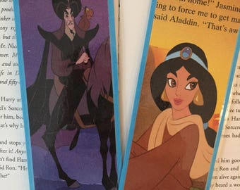 Jasmine and Jafar Disney Aladdin Bookmarks