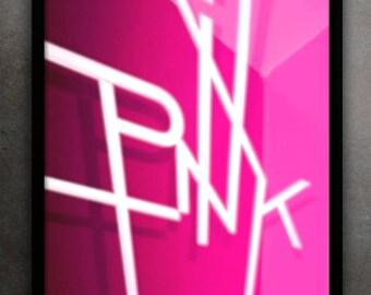 Pink - original art photo picture