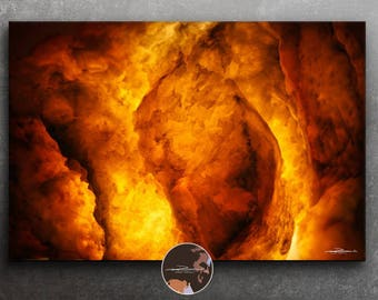 Lava Texture - original photo art picture