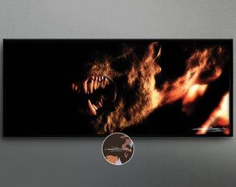 Werewolf - original photo art picture