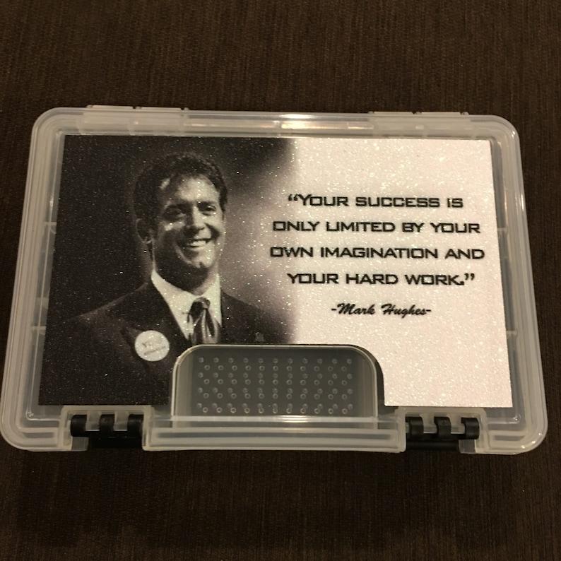 White Bling Mark Hughes Tab Box
