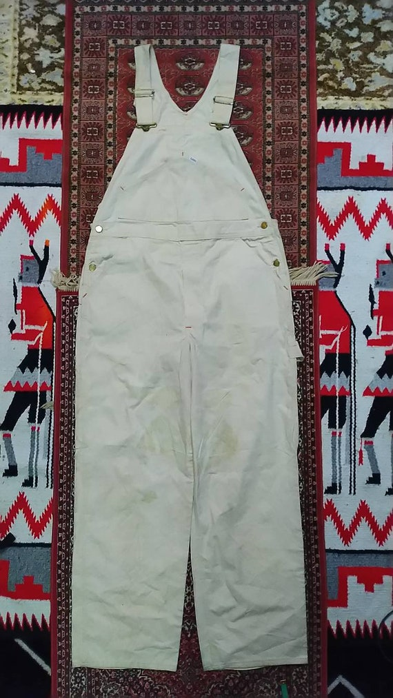Vintage white 1960s coverall lee deadstock