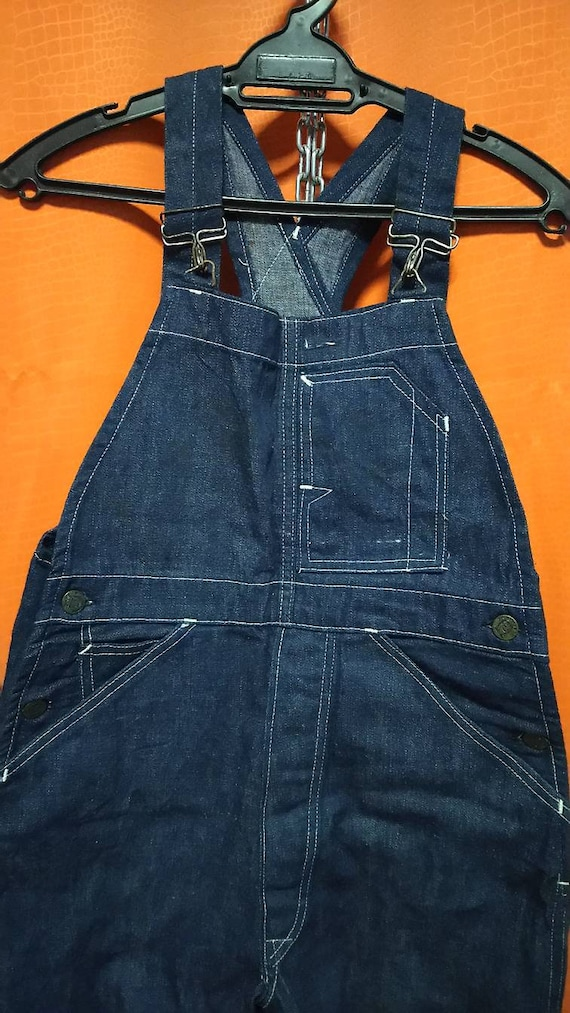 Antique overall denim railroad stronghold 1930s or