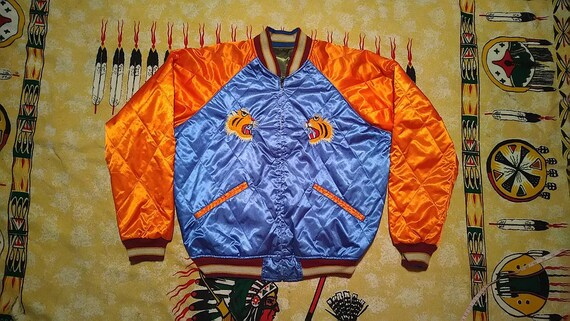 Vintage jacket sukajan souvenir tigers