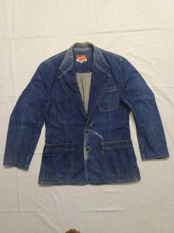 Denim Jacket levis Tailored 1960s