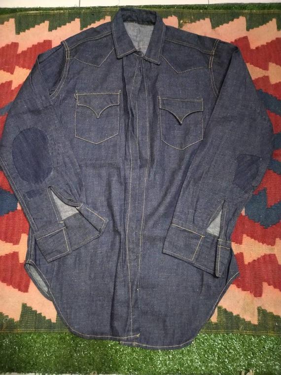 Prototype levis designeer denim shirt , Wrangler,