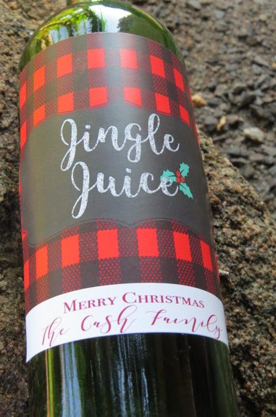 Christmas wine bottle labels\u239cPersonalized wine gifts\u239choliday neighbor party favors gift\u239ccustom nutcracker labels\u239cChampagne label\u239cSET of 10