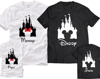 Disney Family Shirts, Disney Family Vacation Tshirts, Mickey and disney Family Shirts,Family Disney Shirts,Pesonalized Disney Family Shirts