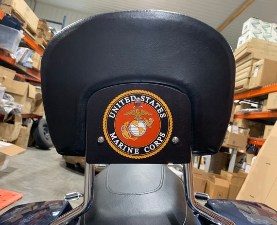 United States Army Backrest Mount Plate for Harley Davidson Touring Bikes