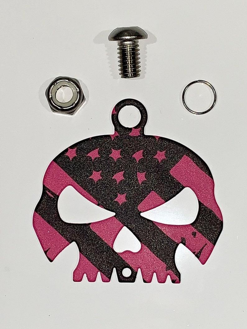 Stripper Bell Hanger Mount for Motorcycle Harley Bolt /& Ring Included