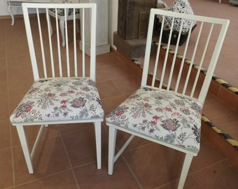 Two VINTAGE Chairs (60s) Shabby Chic #