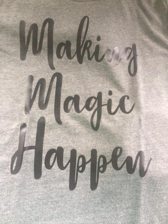 Making Magic Happen Etsy