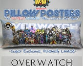 Pillow Posters OVERWATCH _Full Cast Pillowcase Ltd Ed