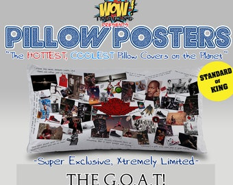 Pillow Posters: THE G.O.A.T!  Michael Jordan Tribute Pillowcase Ver.1