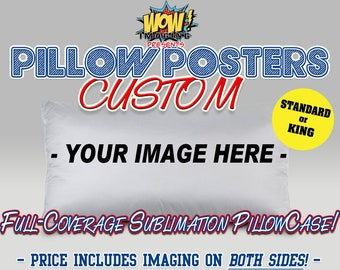 CUSTOM PillowCase / Pillow Cover !! **Your Image!!***_Pillow Posters