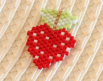 Strawberry brickstitch customize