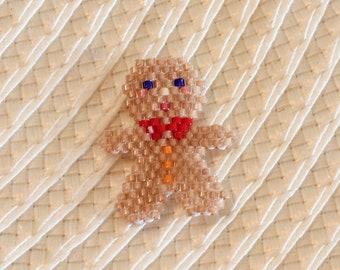 Gingerbread in brickstitch customize