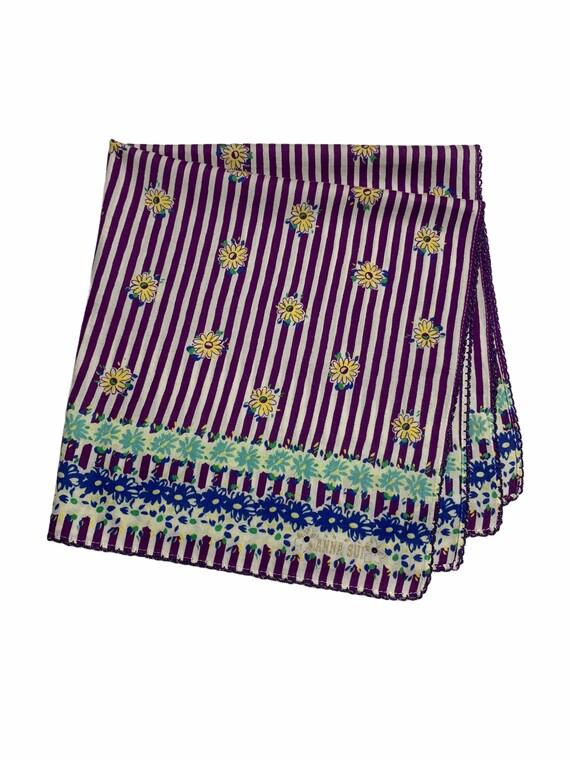 Vintage Anna Sui Bandana Handkerchief Neckerchief