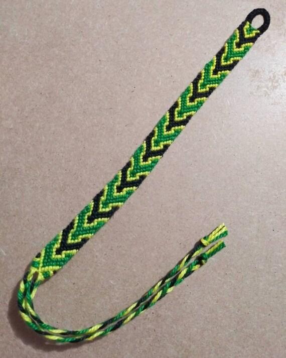 My Hero Academia Tsuyu Asui Froppy Inspired Handwoven Friendship Bracelet