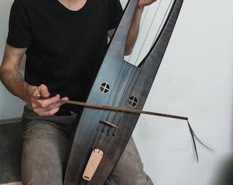 Bass Tagelharpa / Talharpa / Jouhikko / Bowed lyre # 1