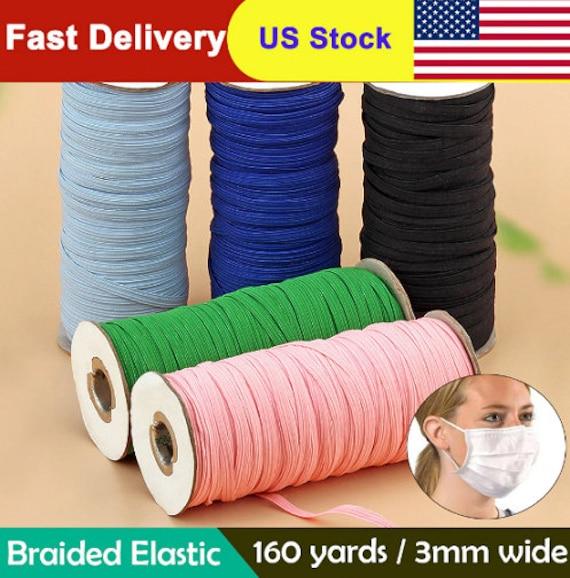 160 Yards 3mm Colorful Mask Elastic Rubber Band Mask Ear Etsy