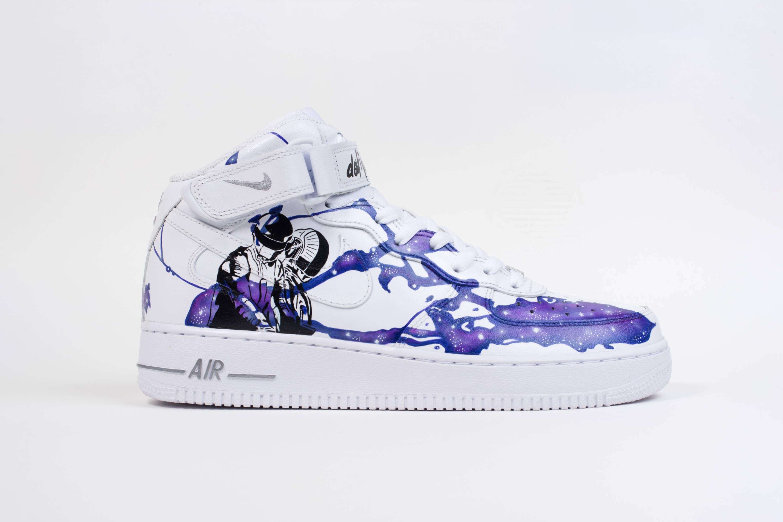 Custom Nike Air Force 1 Mid