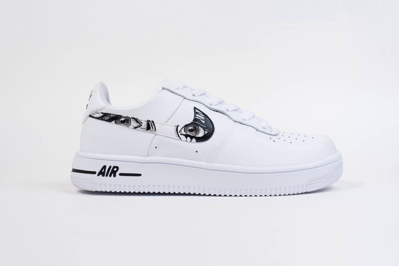 2aca58f7bd Custom Nike Air Force 1 Ultraforce Manga Soul | Etsy