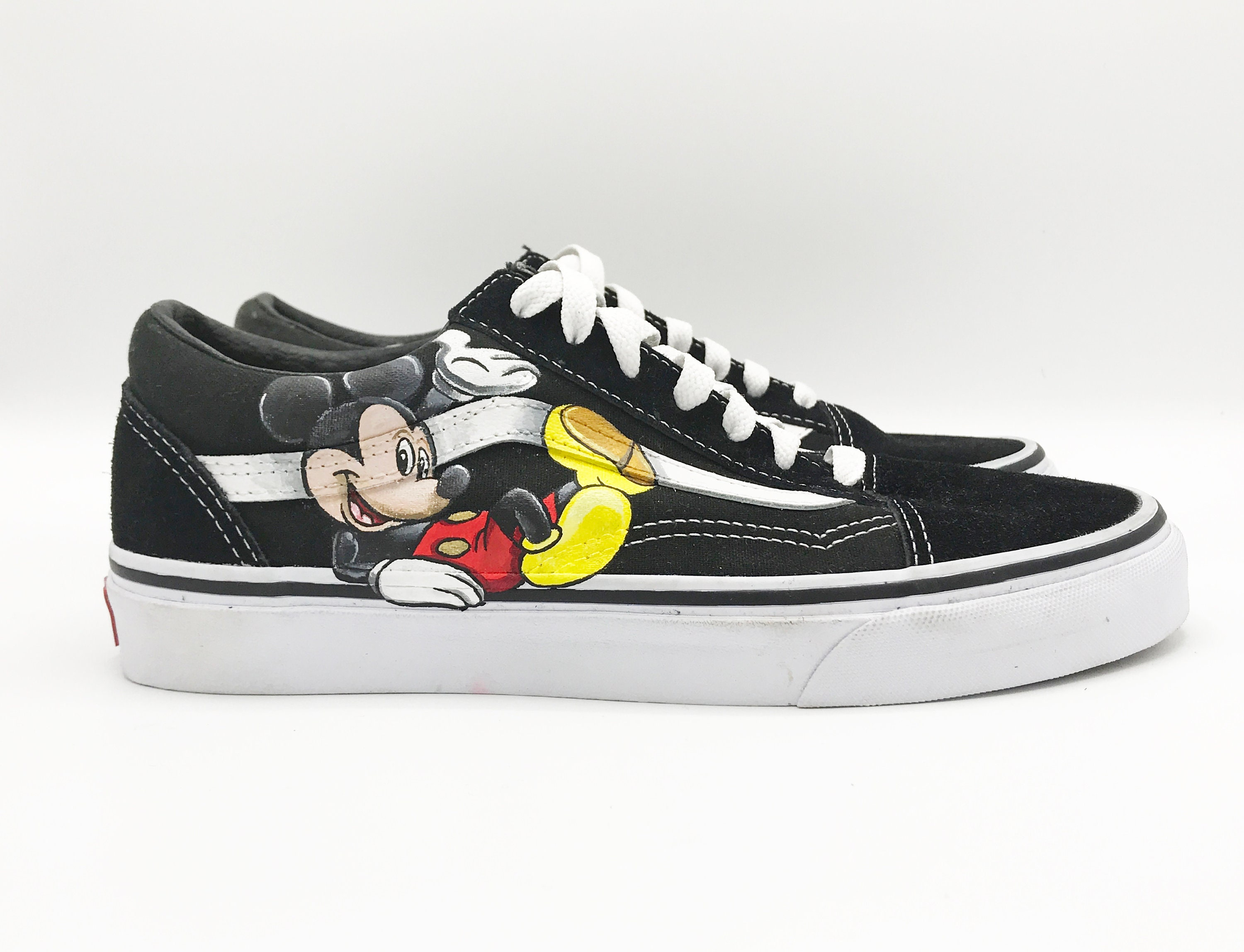 Custom Vans Old Skool Happy Mouse  28f631c2f4b