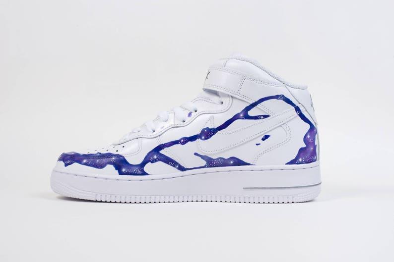 Personalizzato Nike Air Force 1 Mid Da forza Nn3acQyi
