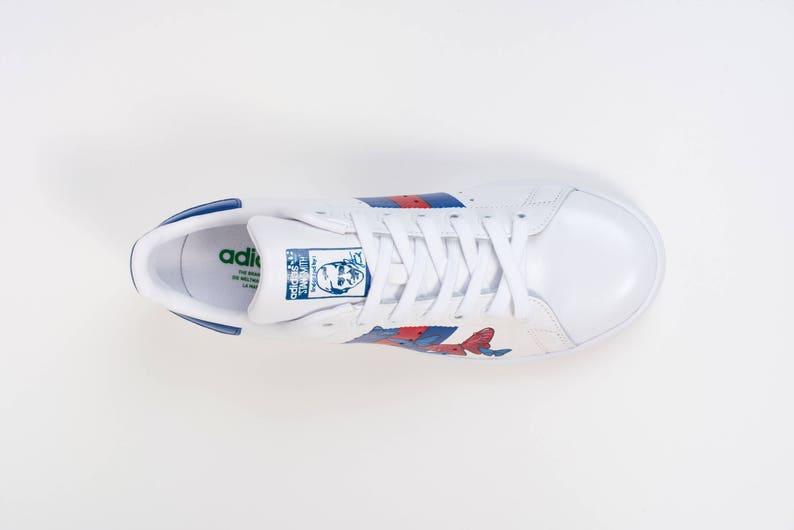 Personalizzato Adidas Stan Smith Originali 6M46G56f