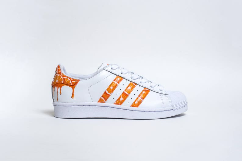 separation shoes 16d65 2072b Custom Adidas Superstar O.J. drip   Etsy