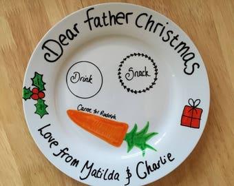Personalised Christmas Eve Plate