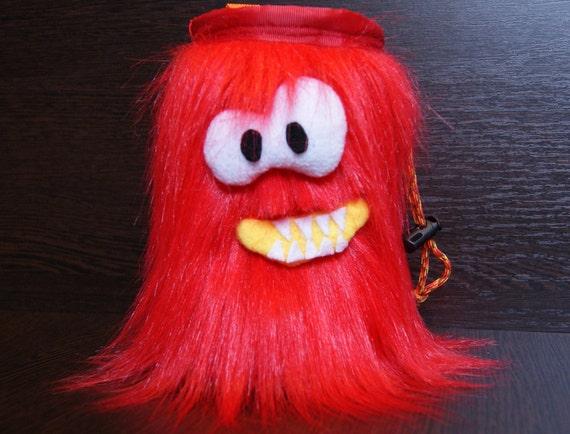Sac de craie rouge Togo craie escalade sac cadeau escalade pour grimpeur Original chalk bag sac bloc de craie drôle
