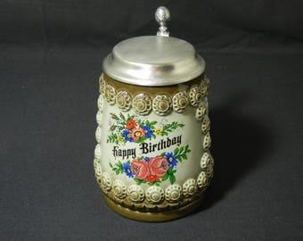 King Birthday Stein