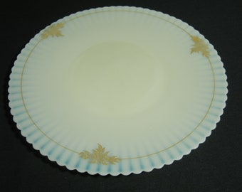"Petalware Creamax with Gold Trim 11"" Salver Plate"