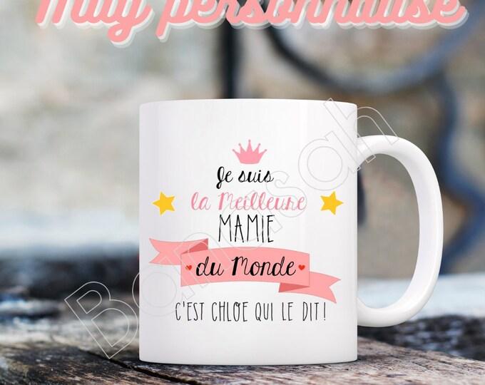 Custom Ceramic Mug, Available for Mom, Mistress, Grandma, Tata, ...
