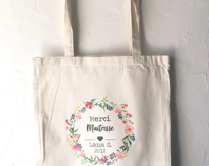 Custom cotton tote Bag for Mistress gift!