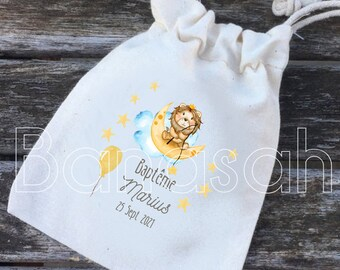 Dragee pouches or personalized gifts for Baptism or Communion with the first name(s), date of your choice! gifts guests birth