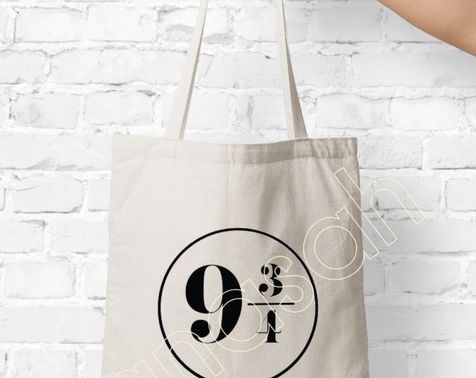 """Tote bag """"Magician 9 3/4"""" shopping bag, Ideal as a practical and original gift"""