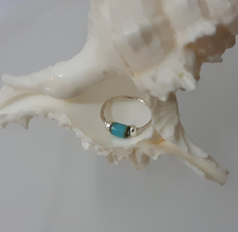Turquoise Nose Hoop Real Nose Ring Nose Ring Jewelry Thin Nose Ring Tiny Turquoise Nose Rings Nose Ring Piercing Turquoise Piercing