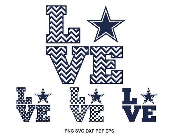 Download Dallas Cowboys svg file Texas svg files Cowboys heart svg ...