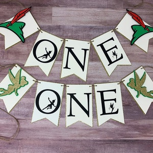 First Birthday Peterpan Monthly Photo Banner Sign Never Grow Up Photo backdrop 1st Birthday Milestone Banner Captain Hook Neverland