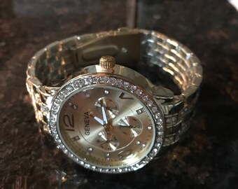 Mens Crystal Watch